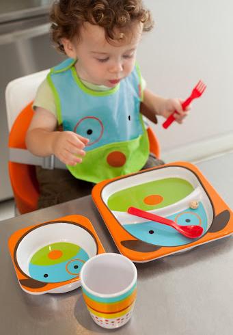Geschirr fürs Baby
