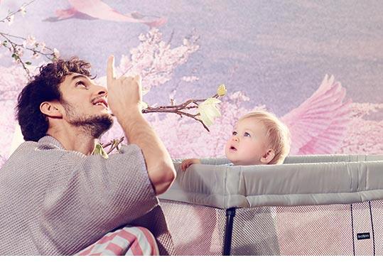 Reisebett für Kind und Baby