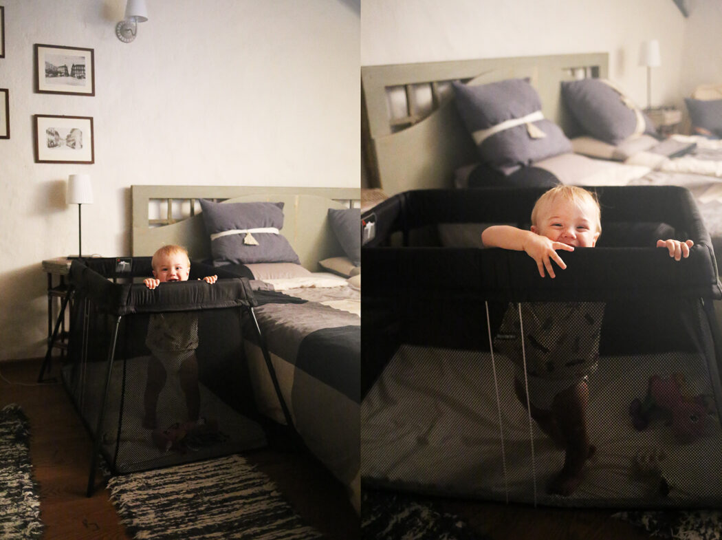 BabyBjörn Set Reisebett Light