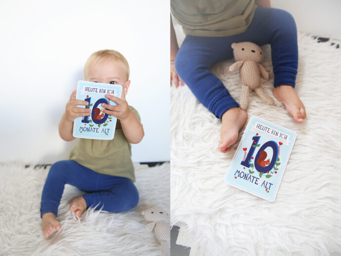 baby-update-10-month-monate-babyglueck-post-43-wochen-babyboy-elternglueck-milestone-baby-cards-photography