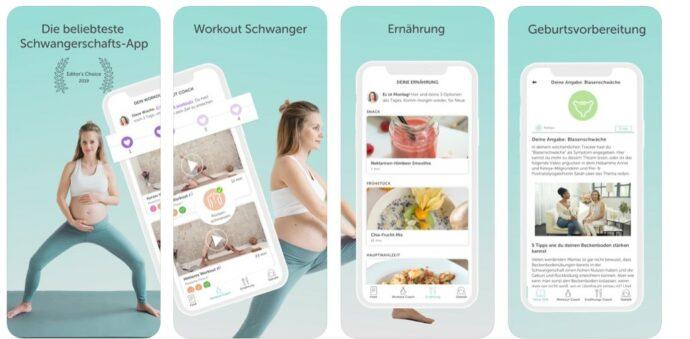 Schwangerschafts App Keleya