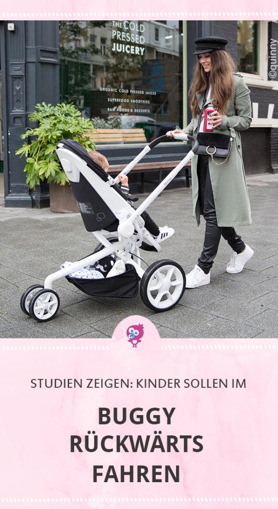 Studien zeigen: Kinder sollen im Buggy rückwärts fahren. Die Blickrichtung im Buggy macht einen Unterschied #buggy #baby