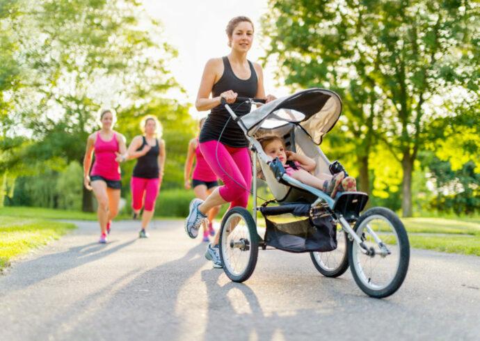 mit welchem Kinderwagen kann man joggen gehen