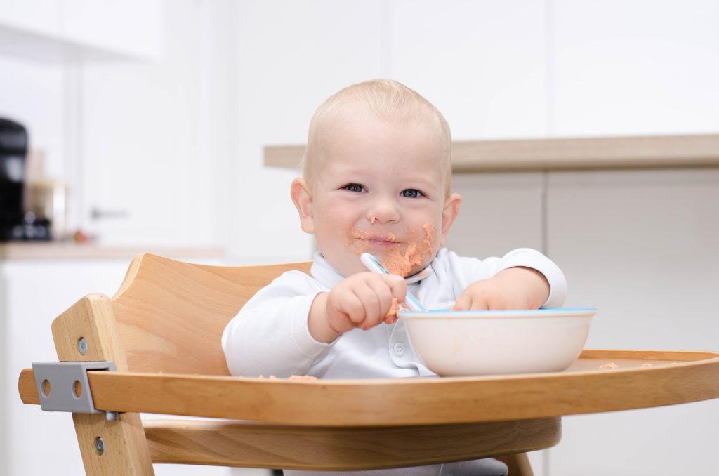 Welchen Hochstuhl für ein 4 Monate altes Baby