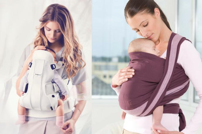 Unterschied Babytrage und Tragetuch