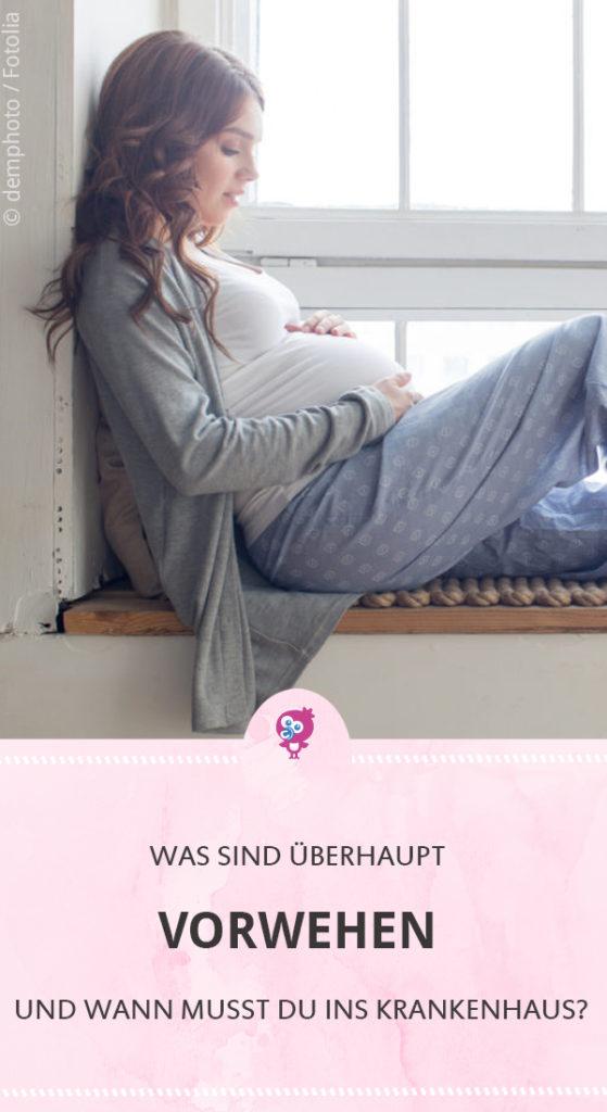 Was sind Vorwehen und wann musst Du ins Krankenhaus? Das und vieles mehr erklärt Dir unsere Hebamme Christina. #schwanger #wehen