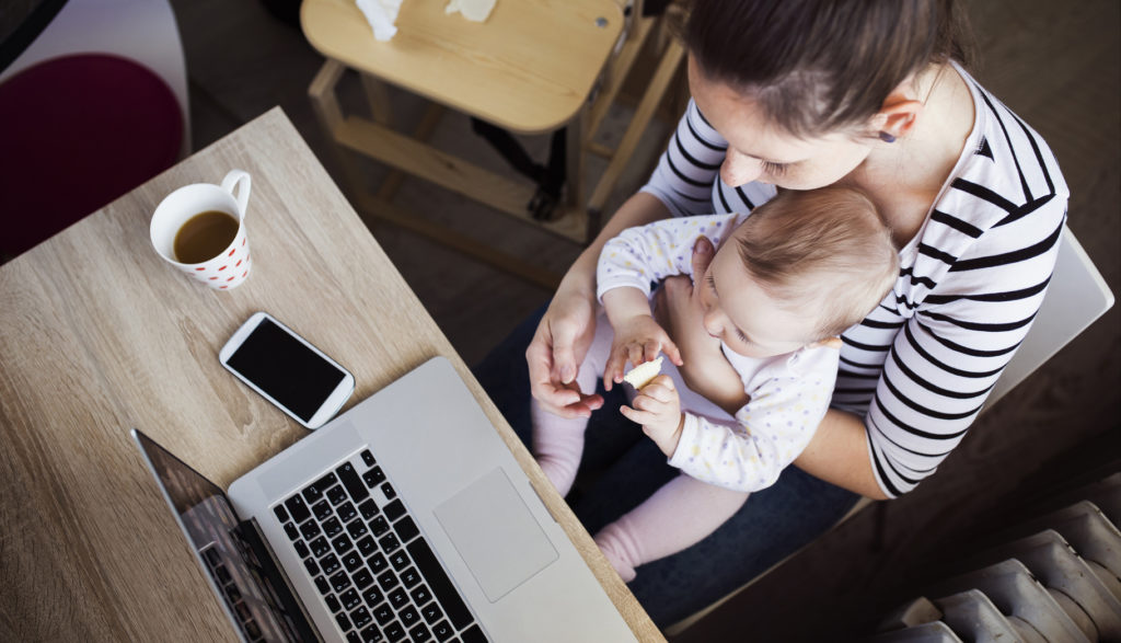 Arbeiten während der Elternzeit
