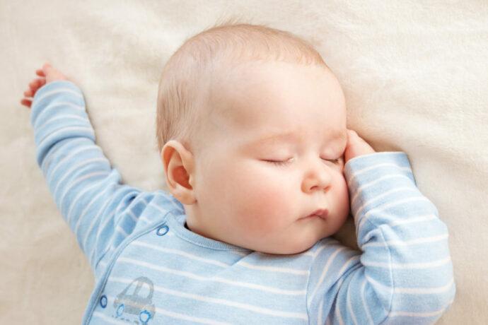 1 x 1 Baby-Schlaf
