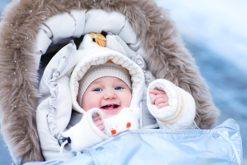 Tipps für den ersten Winter mit Baby
