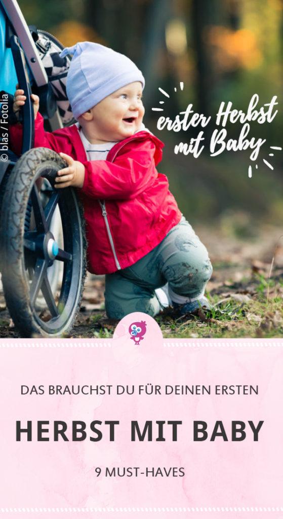 Erster Herbst mit Baby - 9 Must Haves - was Du im Herbst für Dein Baby brauchst #baby #herbst