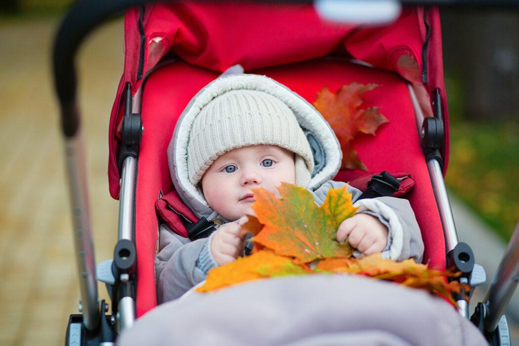 erster herbst mit Baby fußsack tipps