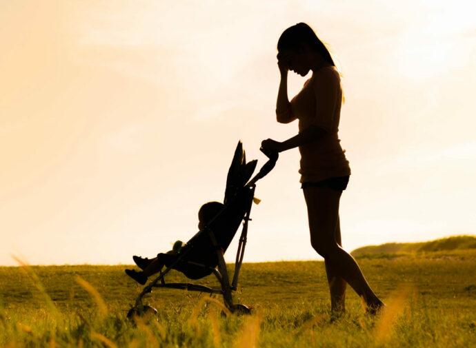 Als Mama kann es einsam sein