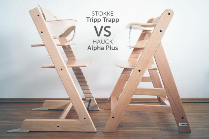 Vergleich Stokke Tripp Trapp vs. Hauck Alpha Plus