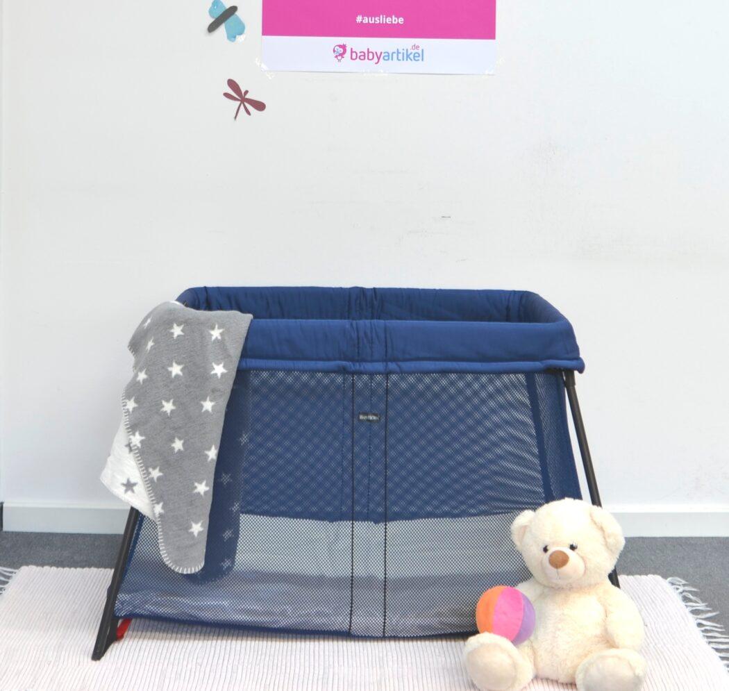 test reisebett light von babybj rn magazin. Black Bedroom Furniture Sets. Home Design Ideas