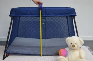 Reisebett Test Babybjörn Reisebett Light. Bewertung der Abmessungen