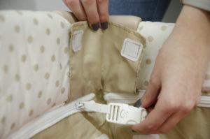 Reisebett Test Hauck Babycenter. Prüfung der Sicherheit