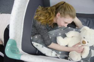 Reisebett Test Hauck Sleep'n Play Center II - Bewertung Komfort fürs Baby
