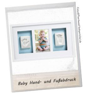 Geschenke zur Geburt Baby Hand-und Fußabdruck