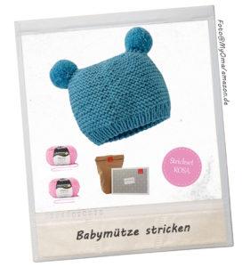 Geschenke zur Geburt Babymützen stricken
