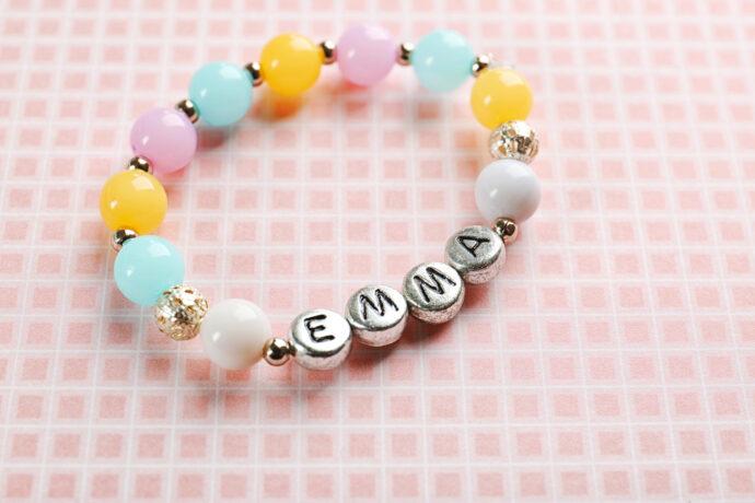 personalisierte Geschenke zur Geburt Baby Armband Name