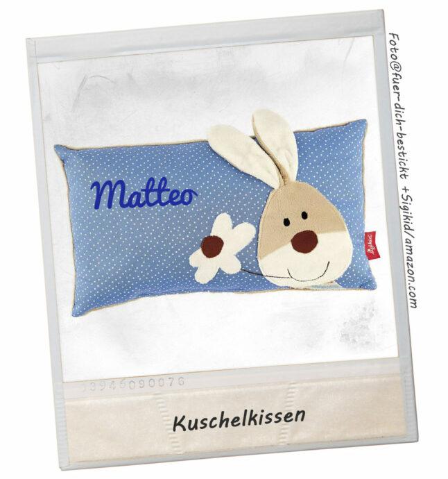 personalisierte Geschenke - personalisiertes Kissen