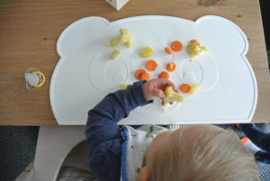 Kokolio Tischset für Baby led weaning