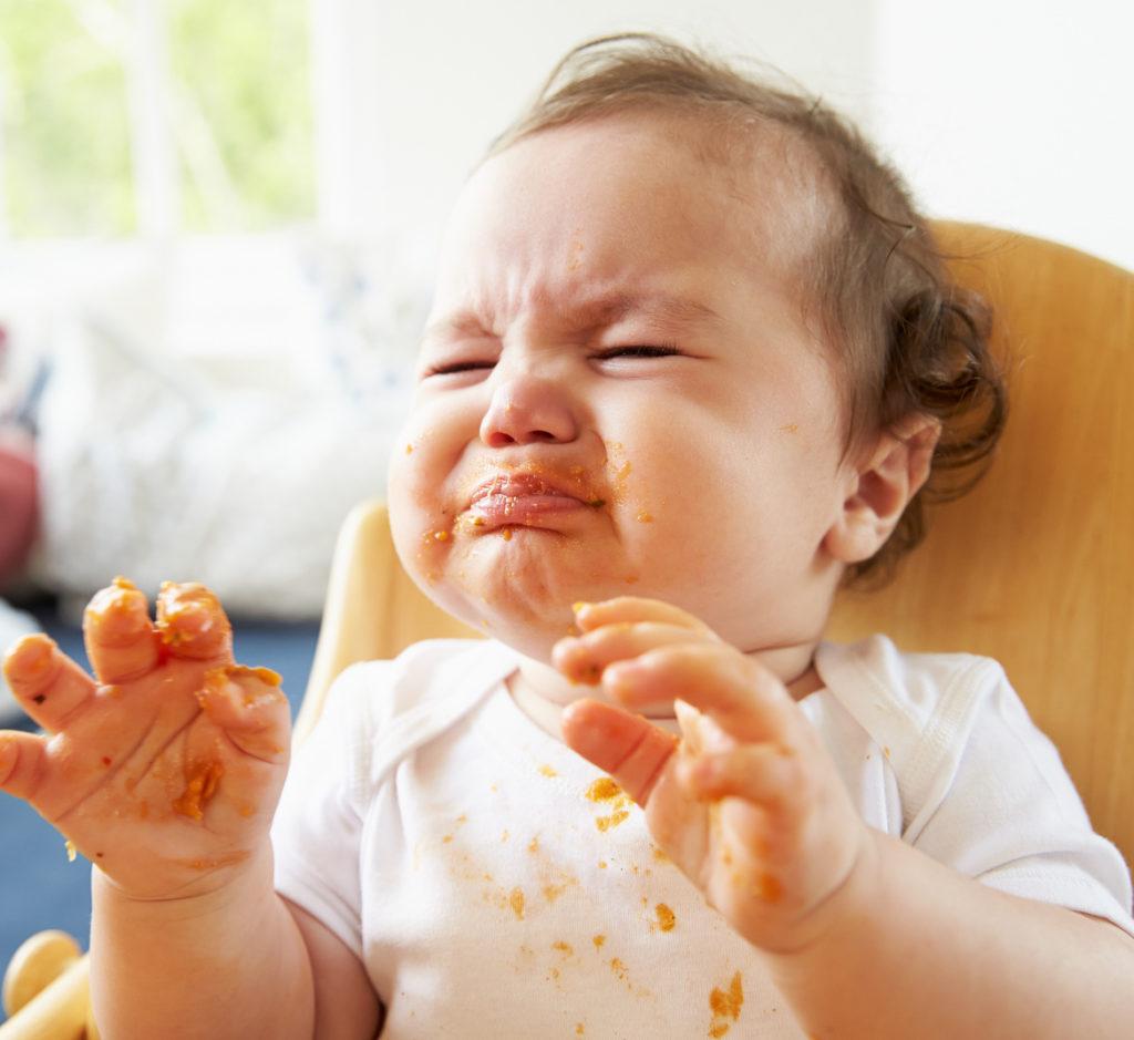 Baby mag keinen Brei, Baby led weaning Breifrei
