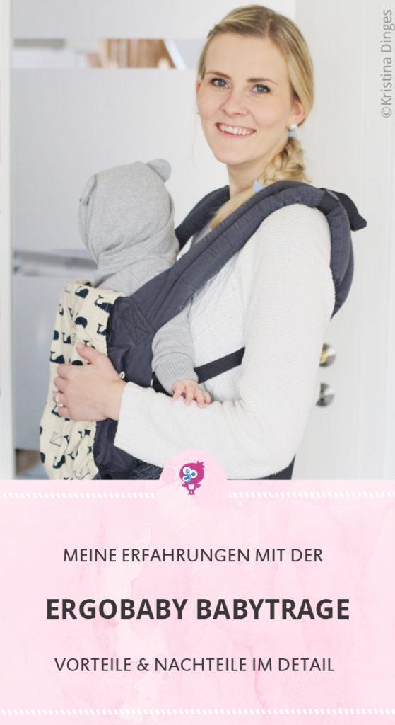 Ergobaby Babytrage Original Testbericht Erfahrungsbericht #babytrage #erfahrung