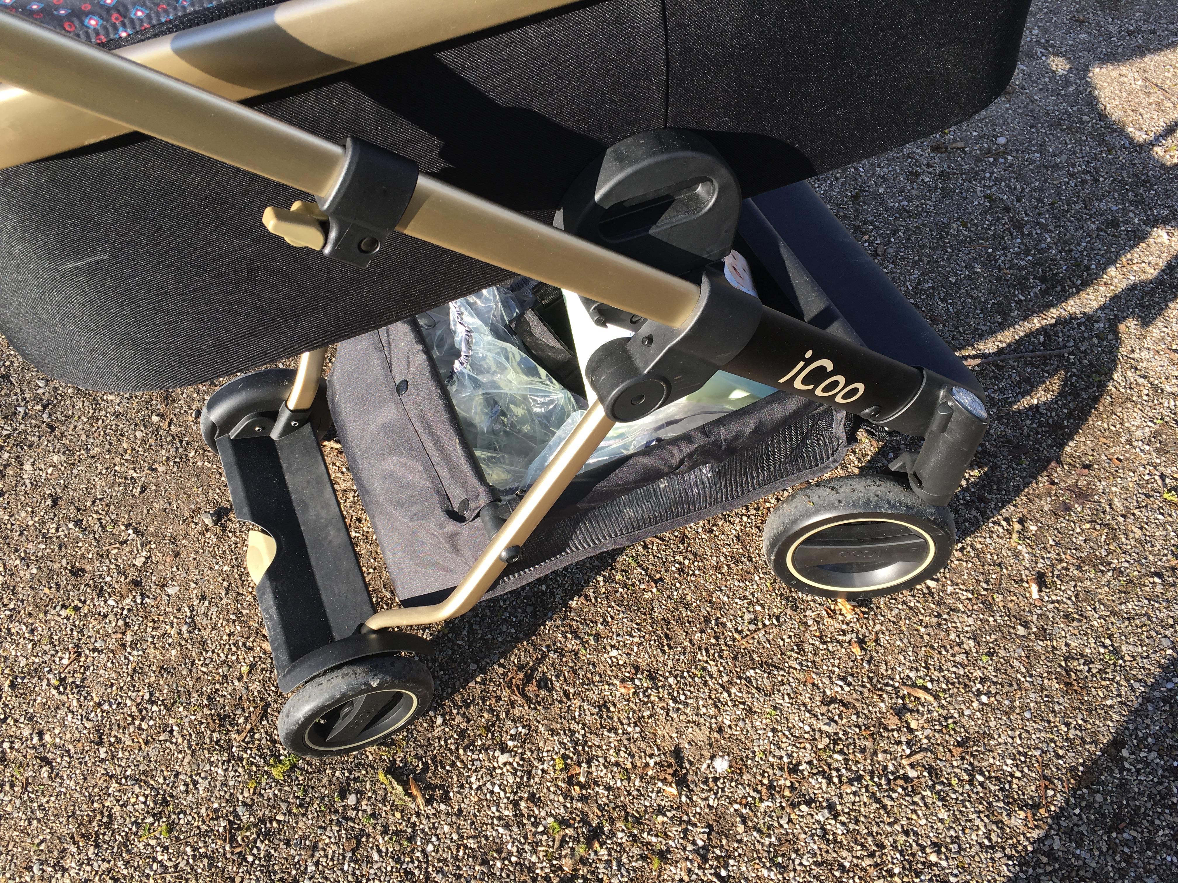 iCoo Kinderwagen Räder