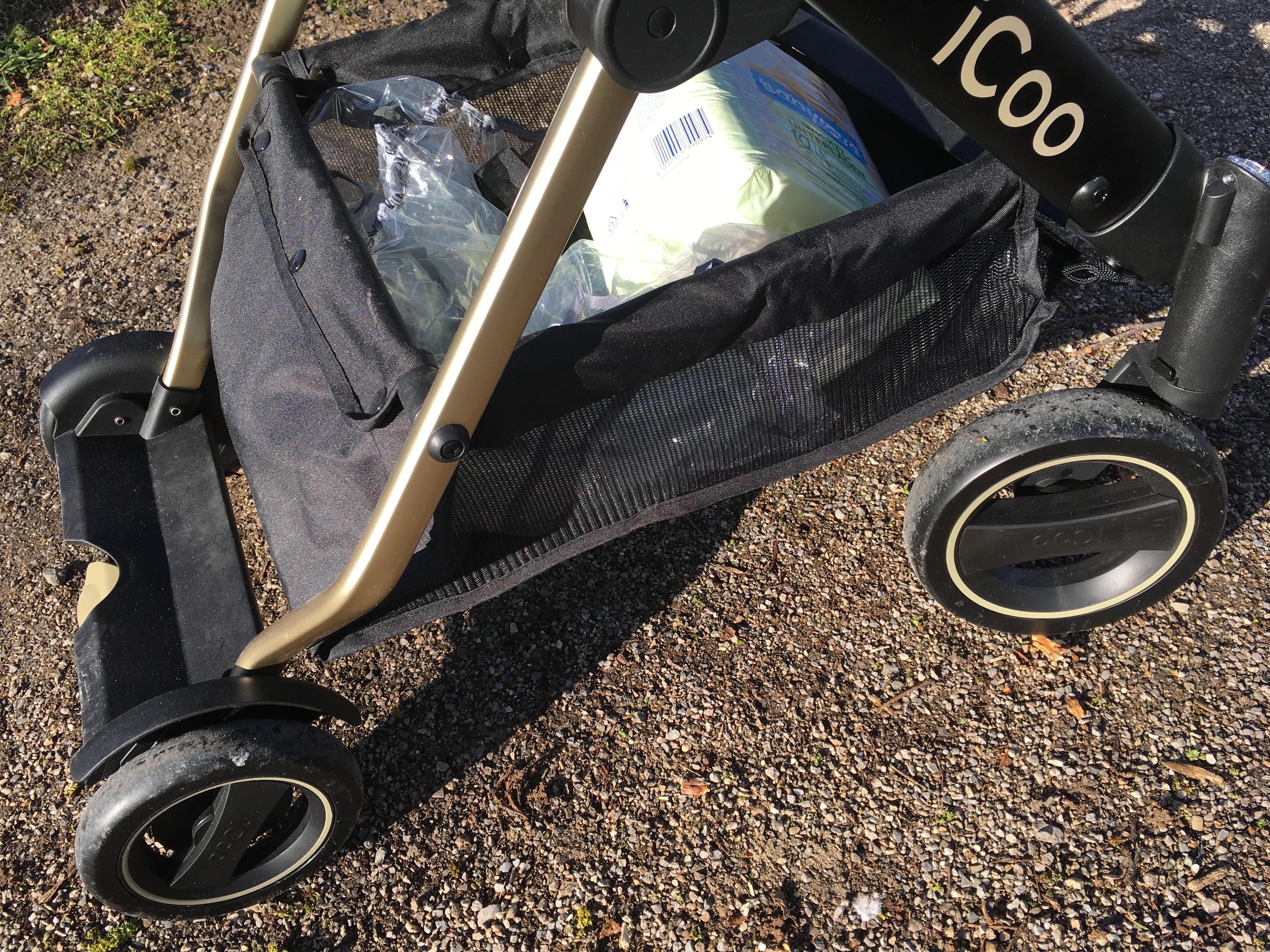 iCoo Kinderwagen Acrobat XL Plus Stauraum