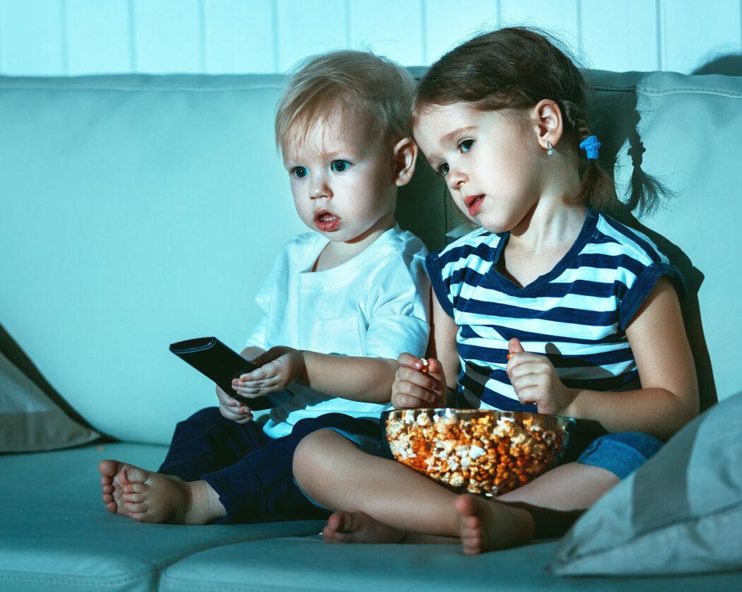 Kleinkind Fernseher, fernsehen, Baby TV