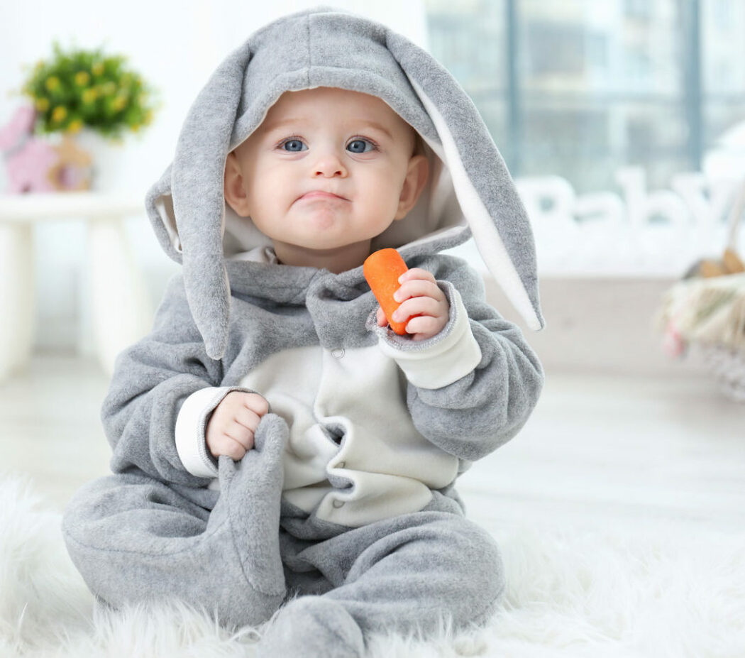 Baby Ostergeschenk für Kleinkinder, Hasenkostüm Baby