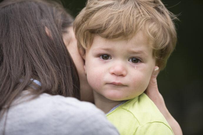 Fremdelphase Baby Trennungsangst Kind, Achtmonatsangst