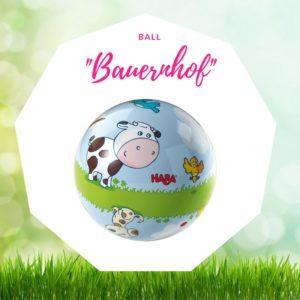 Baby Ostergeschenk Ball Bauernhof Haba