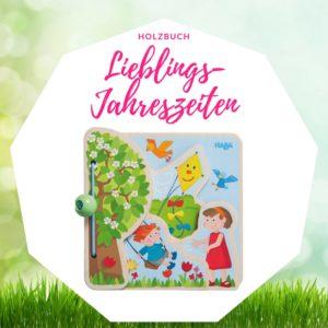 Ostergeschenk Baby Holzbuch Haba