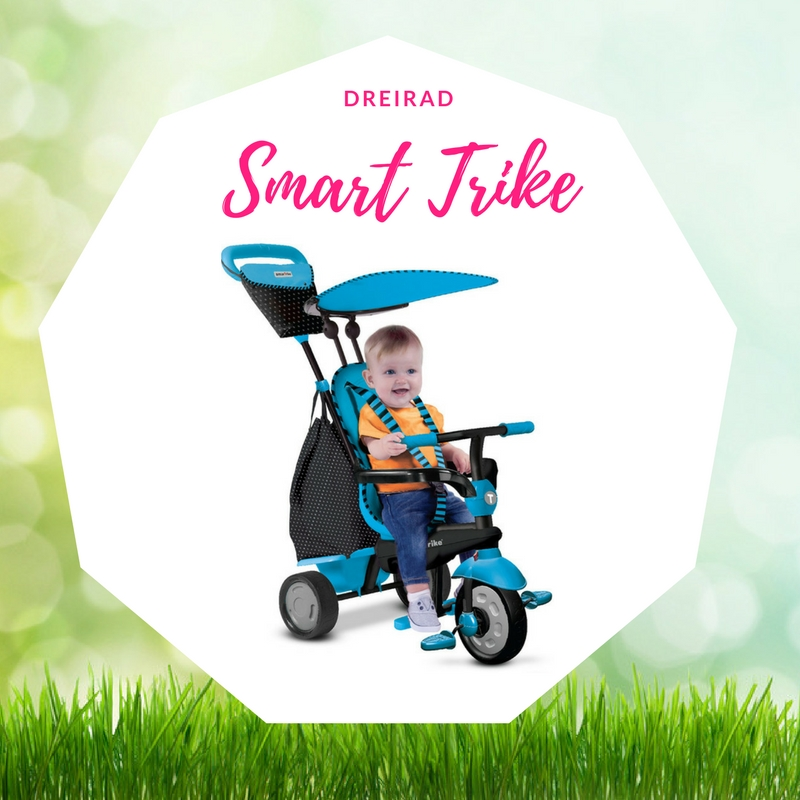 Baby Ostergeschenk Smart Trike Dreirad Glow