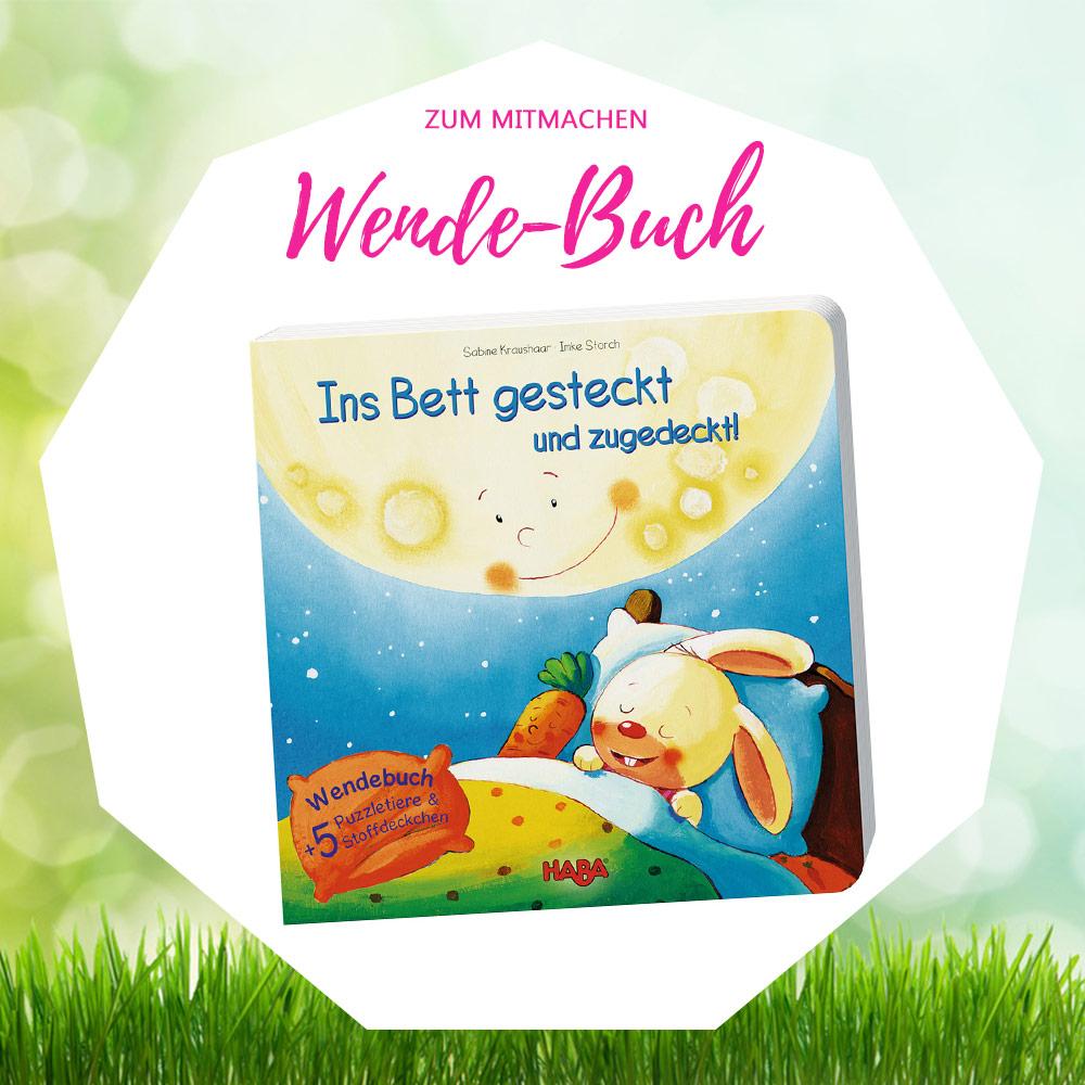 baby ostergeschenke kleinkind wendebuch ins bett gesteckt haba