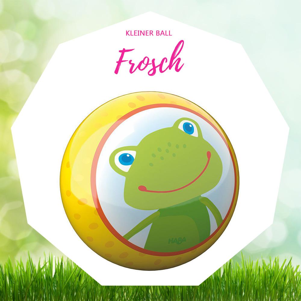 haba kleiner ball frosch