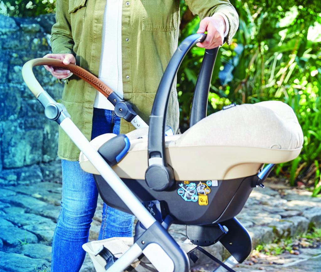 Babyschale auf Kinderwagen befestigen mit Adaptern für Maxi-Cosi, Kinderwagen mit Babyschale