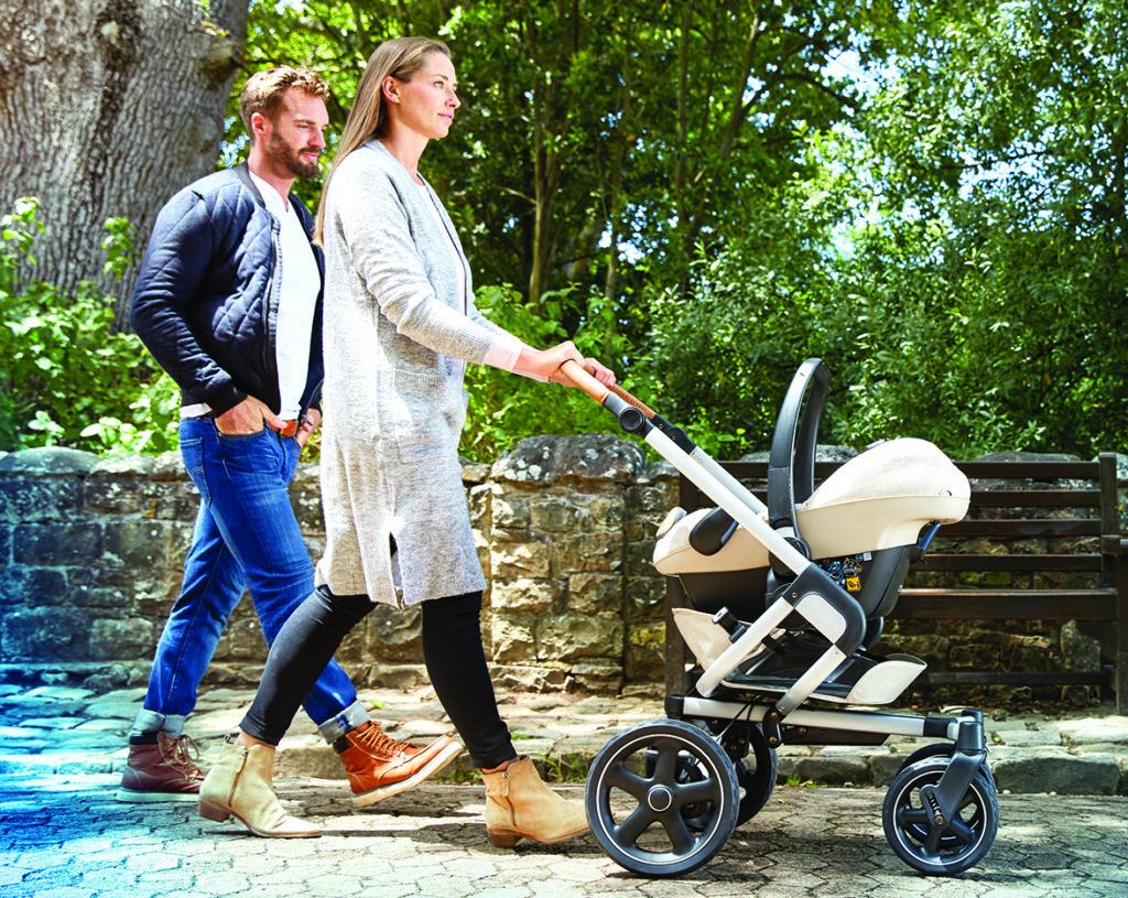 Kinderwagen mit Maxi-Cosi, Kinderwagen mit Babyschale