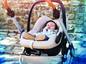Maxi-Cosi Adapter für Kinderwagen, Kinderwagen mit Babyschale