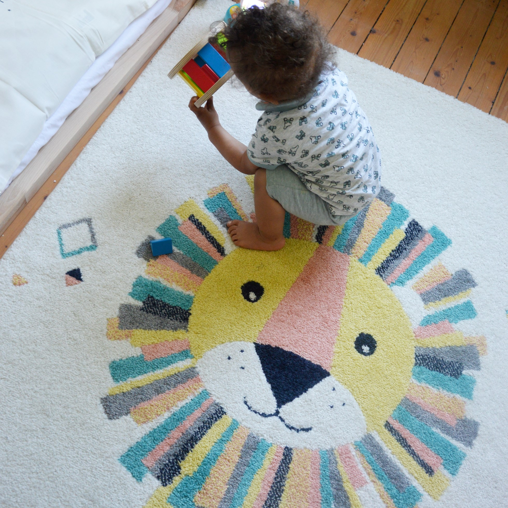 Kinderzimmer einrichten Living Interior Blogger Blog onloom kinderteppich