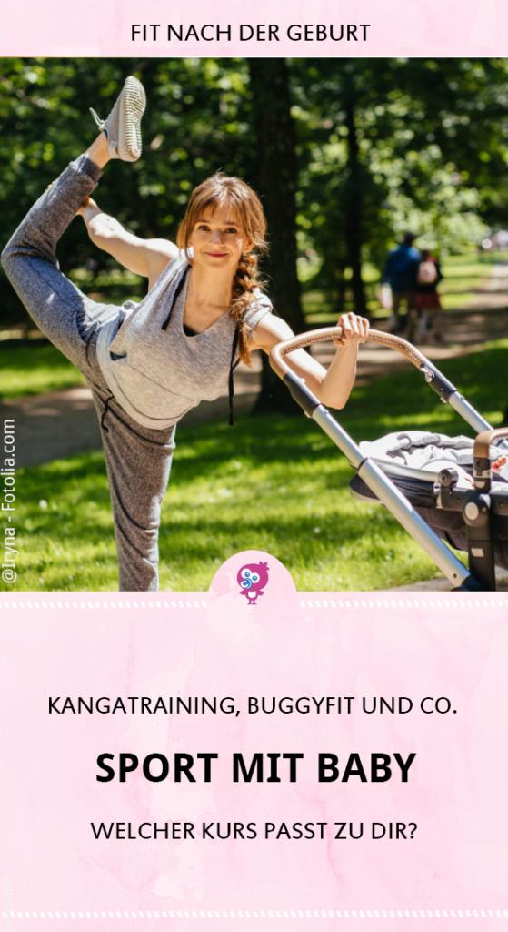 Sport mit Baby: Was bringen Kangatraining, Buggyfit und Co. wirklich. So wirst Du schnell wieder fit nach der Geburt