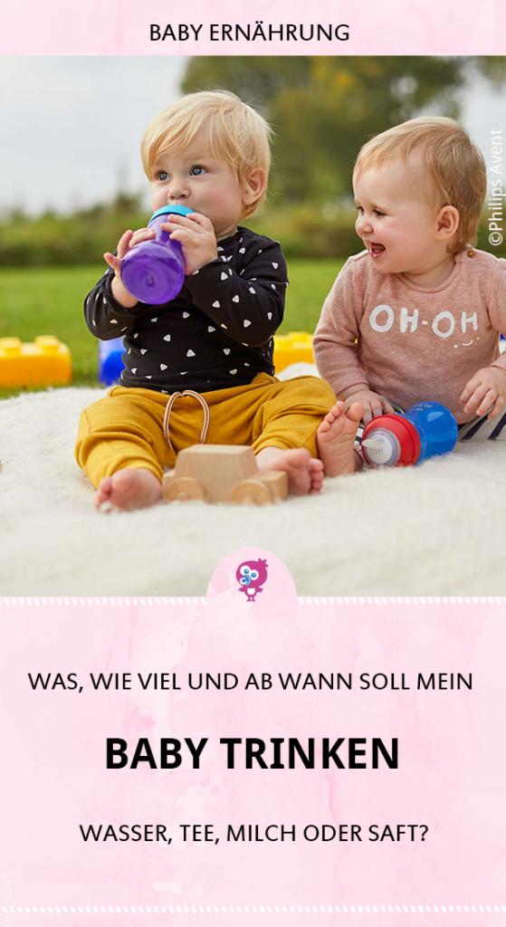 Was, wie viel und ab wann sollte Dein Baby trinken das erklärt Die Hebamme Monika in diesem Artikel. #baby