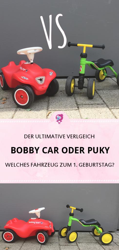 Bobby Car oder Puky Rutschrad: Welcher Rutscher für mein Baby zum ersten Geburtstag? Der ultimative Vergleich #bobbycar #baby