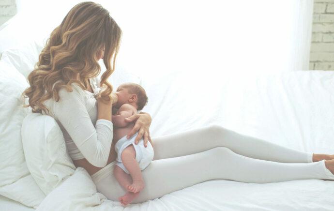 clusterfeeding baby will ständig an die brust