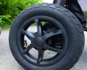 Vergleich Joie Litetrax 4 oder 4 Air Reifen