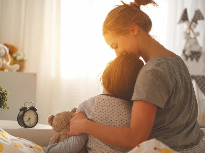 morgenritual kleinkind, morgen mit baby stress, kind