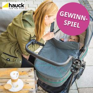 Gewinnspiel Hauck Kinderwagen-Set Rapid 4