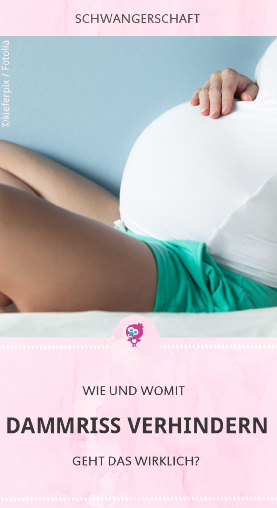 Geburtsverletzungen wie einem Dammriss vorbeugen - geht das überhaupt? Zumindest gibt es verschiedene Möglichkeiten, die das Risiko minimieren sollen. Welche das sind und wie Du sie anwendest, erfährst Du hier. #schwanger #geburt #dammriss